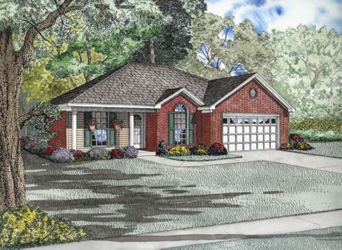 Traditional Style Floor Plans 12-655