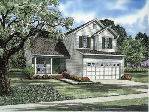 Traditional Style Home Design Plan: 12-659