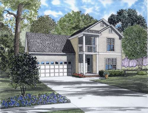 Southern Style House Plans Plan: 12-660