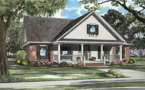 Southern Style Floor Plans Plan: 12-668