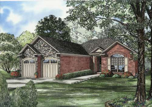 Traditional Style Floor Plans Plan: 12-677