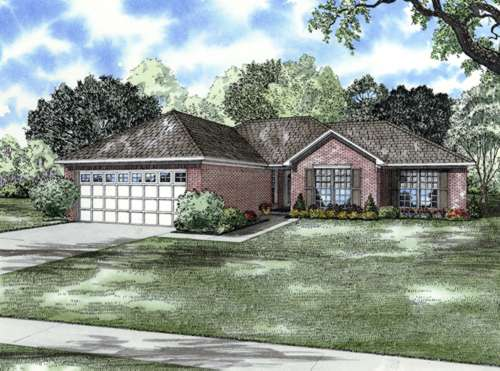 Traditional Style Floor Plans Plan: 12-679