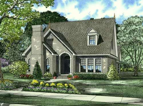 Traditional Style Home Design Plan: 12-685