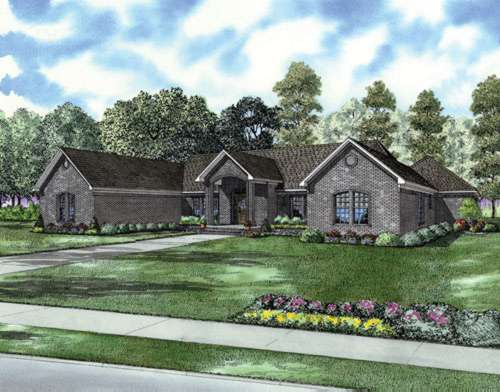Traditional Style House Plans Plan: 12-694