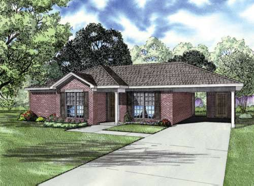 Traditional Style House Plans Plan: 12-695