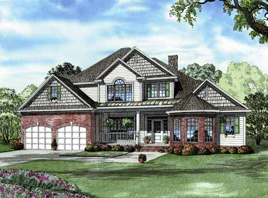 Traditional Style House Plans Plan: 12-700