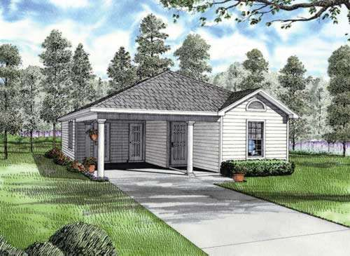 Traditional Style House Plans Plan: 12-701