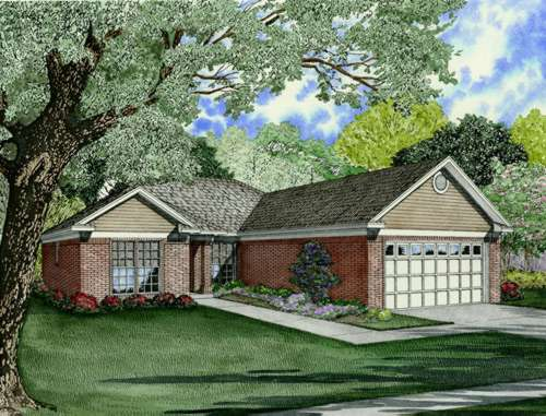Traditional Style House Plans Plan: 12-706
