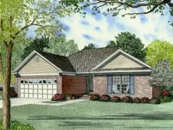 Traditional Style Home Design Plan: 12-707
