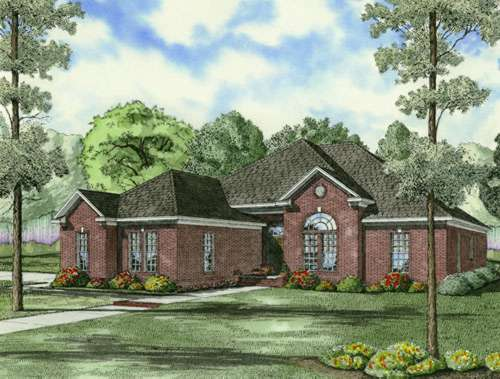 Traditional Style Floor Plans Plan: 12-708