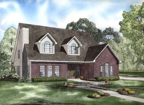 Southern Style Floor Plans Plan: 12-709