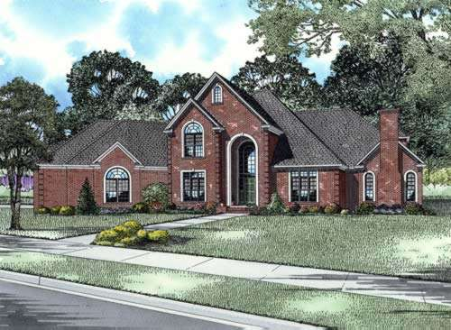 European Style Floor Plans Plan: 12-711