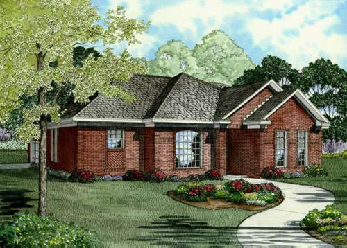 Traditional Style Home Design Plan: 12-714