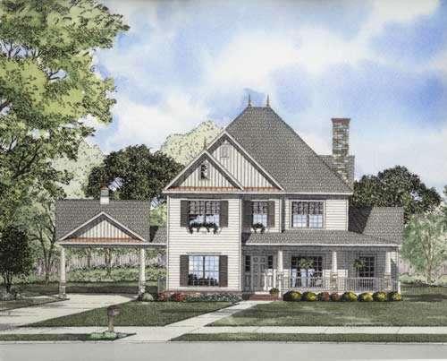 Farm Style House Plans Plan: 12-719