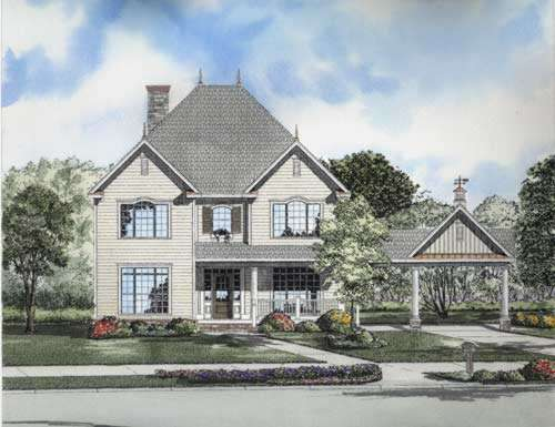 Traditional Style Floor Plans Plan: 12-722