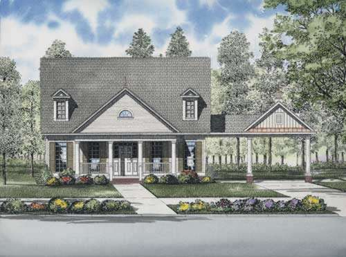 Southern Style House Plans Plan: 12-728
