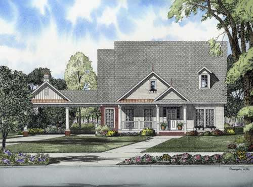 Traditional Style Floor Plans Plan: 12-733