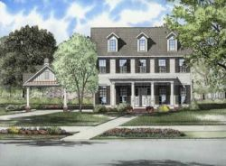 Southern Style House Plans Plan: 12-735