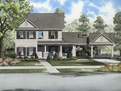Traditional Style House Plans Plan: 12-736