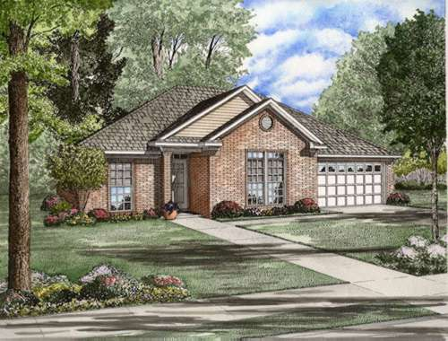 Traditional Style Floor Plans Plan: 12-740
