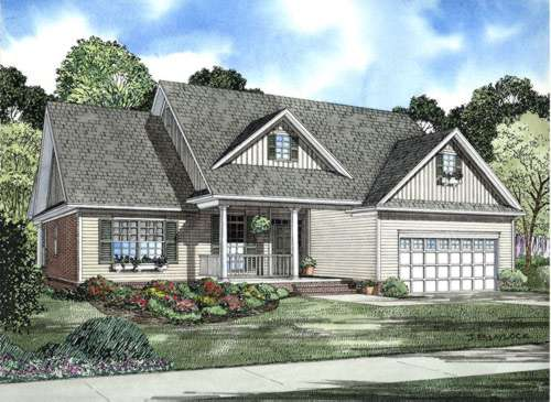 Traditional Style Floor Plans Plan: 12-741