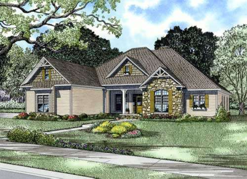 Traditional Style Floor Plans Plan: 12-742