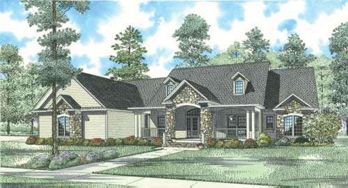 Traditional Style House Plans Plan: 12-745
