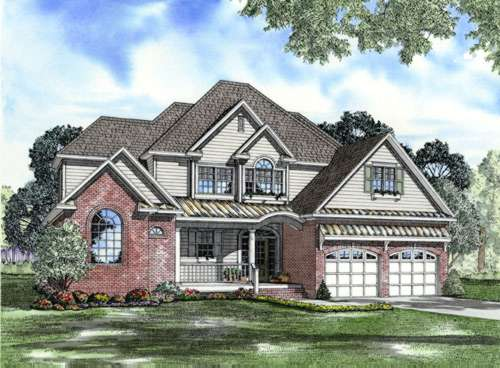 Traditional Style Floor Plans Plan: 12-751
