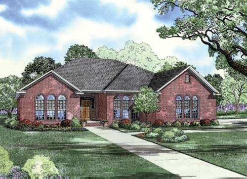 Traditional Style House Plans Plan: 12-755