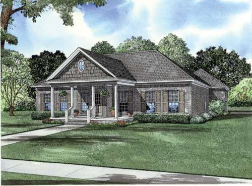Southern Style House Plans Plan: 12-756