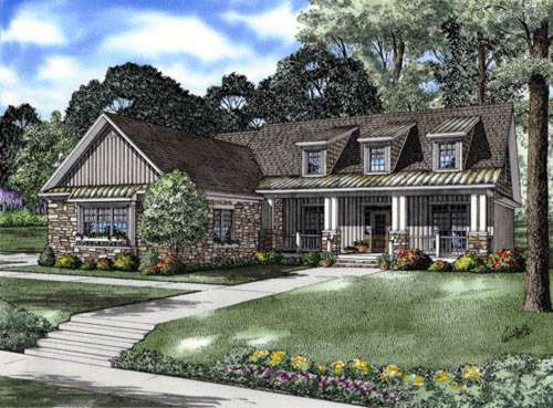 Craftsman Style House Plans Plan: 12-759