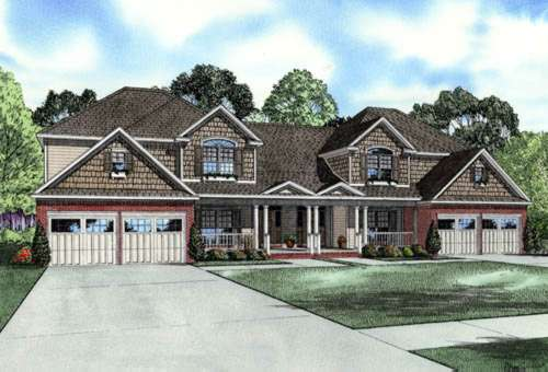 Traditional Style House Plans Plan: 12-761