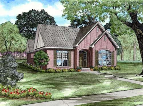 Southern Style House Plans Plan: 12-763