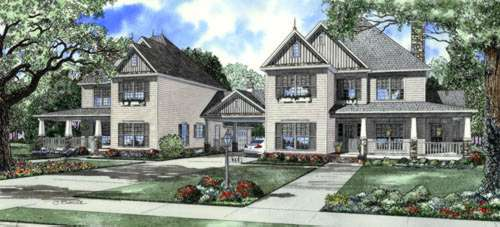 Traditional Style Floor Plans 12-764