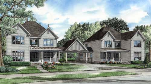 Traditional Style Floor Plans Plan: 12-765