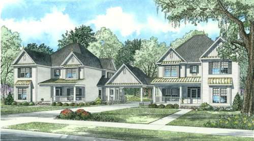 Southern Style Floor Plans Plan: 12-766