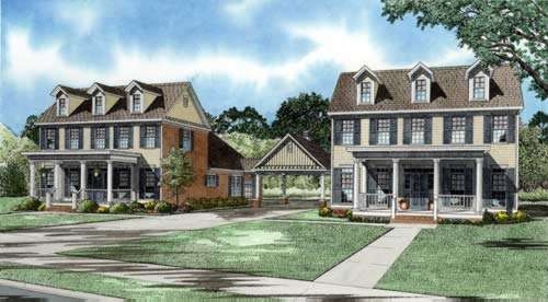 Southern Style Floor Plans Plan: 12-770