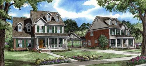 Southern Style House Plans Plan: 12-773