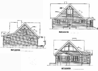 Rear Elevation Plan: 12-779