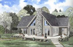 Log-Cabin Style House Plans Plan: 12-785