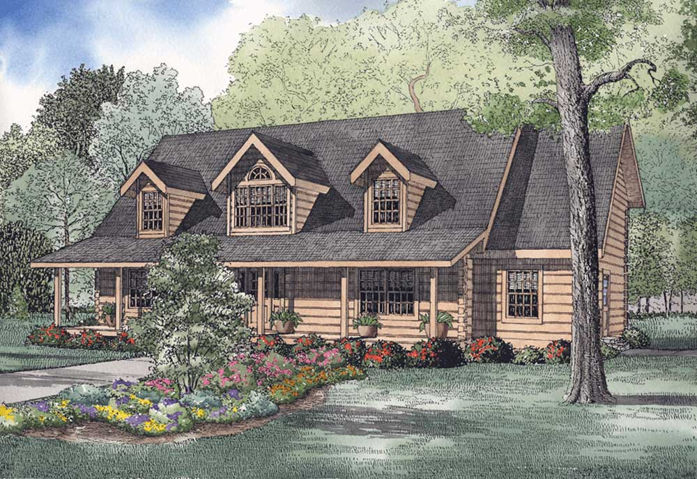 Mountain-or-rustic Style House Plans Plan: 12-809