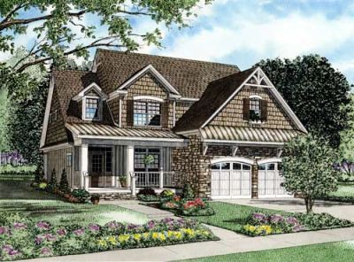 Traditional Style Home Design Plan: 12-837