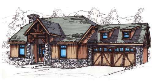 Craftsman Style House Plans Plan: 12-847