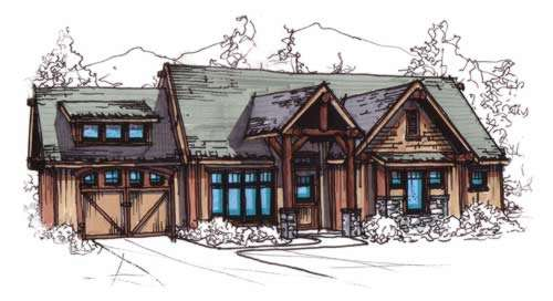 Craftsman Style House Plans Plan: 12-848