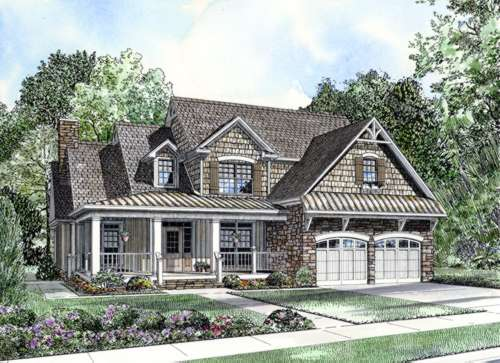 Southern Style House Plans Plan: 12-850