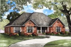 Traditional Style Floor Plans 12-858