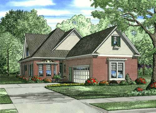 Traditional Style House Plans Plan: 12-861