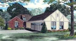 Traditional Style Home Design Plan: 12-862