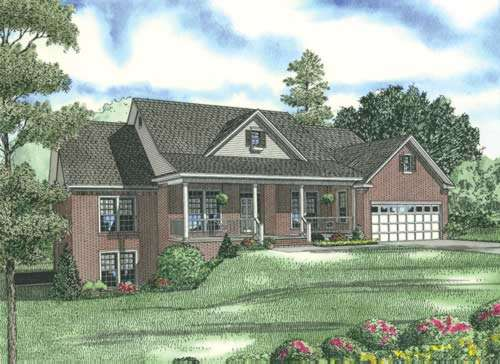Traditional Style House Plans Plan: 12-864