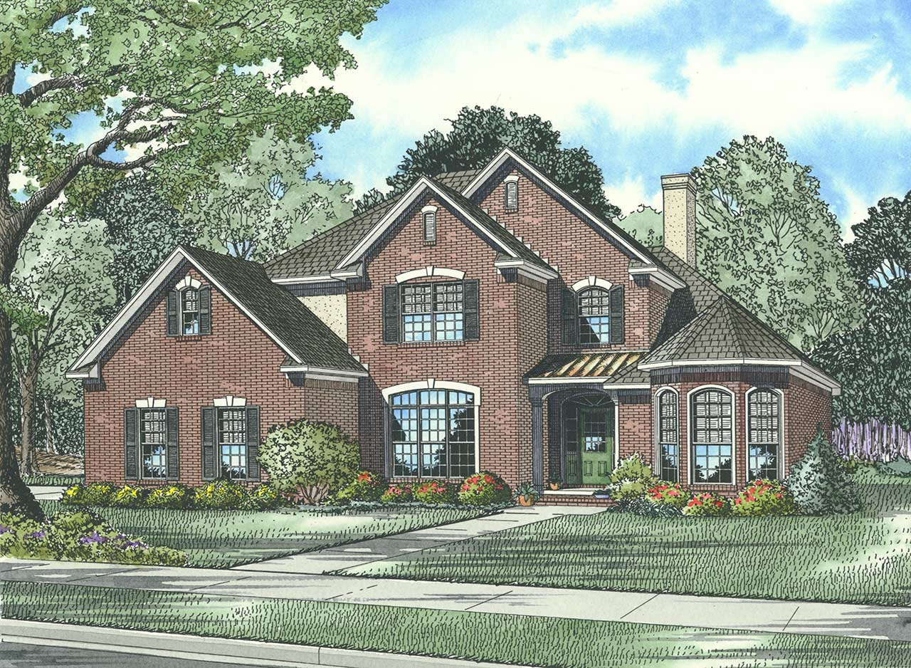 Traditional Style House Plans Plan: 12-866